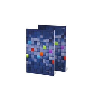 Obrazek BLOK TOP MAKULATUROWY/BIUROWY A5 50K KR. KLEJONY OFFICE 400041087/400070410/400116046  ---KAT.